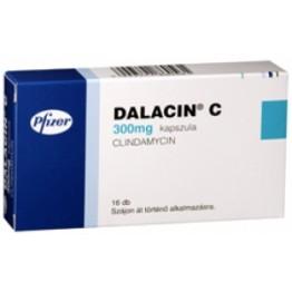 Далацин 300 мг (16 шт)