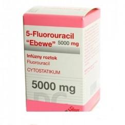 5-Фторурацил Эбеве 5000 мг фл. 100 мл № 1