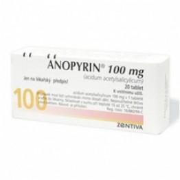Анопирин 100 мг (20 шт)