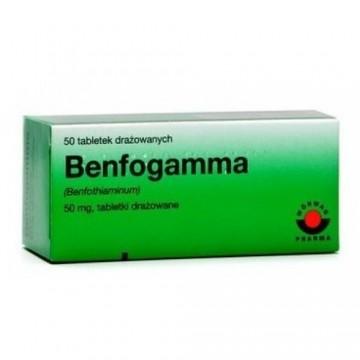 Бенфогамма 50 мг (50 шт)