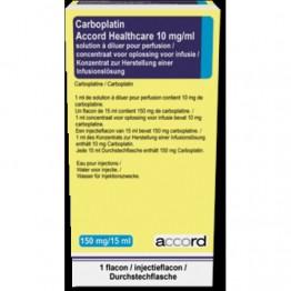 Карбоплатин Акорд 10 мг по 15 мл (150 мг), № 1
