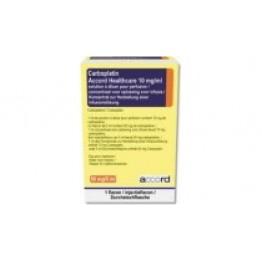 Карбоплатин Акорд 10 мг по 5 мл (50 мг), № 1