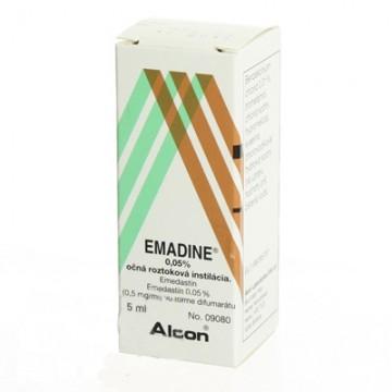 Эмадин (Emadine) 0,05%, 5мл