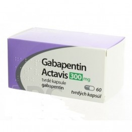 Габапентин Актавис 300 мг (60 шт)