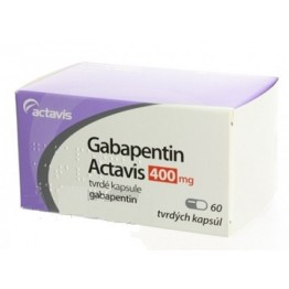 Габапентин Актавис 400 мг (60 шт)