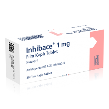 Инхибейс (цилазаприл) 1 мг 30 табл