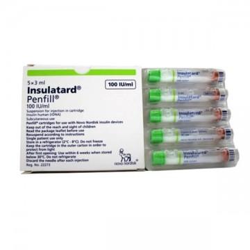 Инсулатард 3 мл (5 вкладышей)