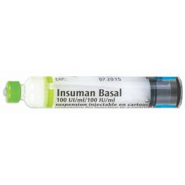 Инсуман Базал 1000IU(1Х10МЛ)