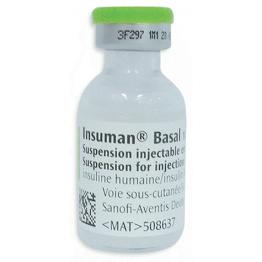 Инсуман Базал сусп. 300 IU(5Х3 мл)