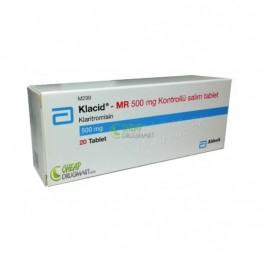 Клацид 500 мг (20 шт)