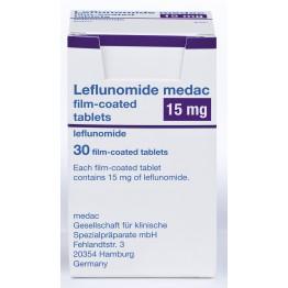 Лефлуномид 15 мг (30шт)