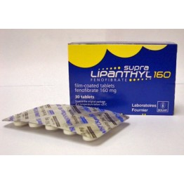Липантил (Lipanthyl) Supra 160 таблетки 160 мг (30 шт)
