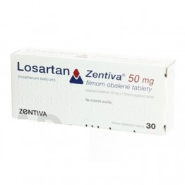 Лозартан (Zentiva) 50мг (30 шт)