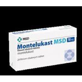 Монтелукаст MSD 10 мг, 28 таблеток