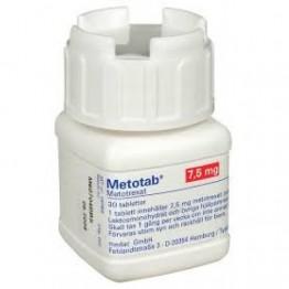 Метотаб 7,5 мг 100 шт
