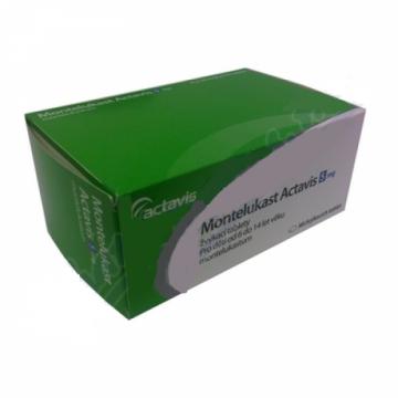 Монтелукаст Actavis 5 мг, 98 таблеток