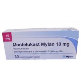 Монтелукаст Mylan 10 мг, 30 таблеток