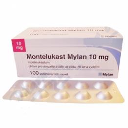 Монтелукаст Mylan 10 мг, 100 таблеток
