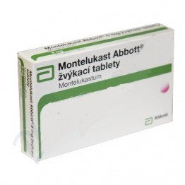 Монтелукаст Abbott 10 мг, 28 таблеток