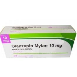 Оланзапин Милан 10 мг (28 шт)