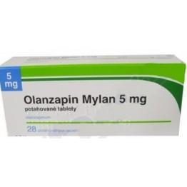 Оланзапин Милан 5 мг (28 шт)