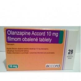Оланзапин Акорд 10 мг (28 шт)