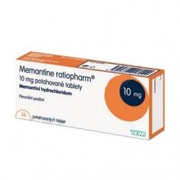 Мемантин Ratiopharm 10 мг (56 шт)