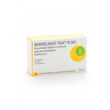 Монтелукаст Teva 10 мг, 28 таблеток