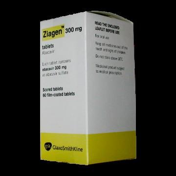 Зиаген 300 мг (60 шт)