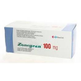 Зонегран (Zonegran) 100 мг, 98 капсул