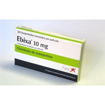 Абикса (Ebixa) 10мг, 28 таблеток