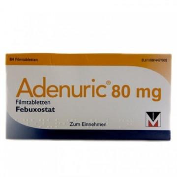 Аденурик 80мг, 28 таблеток