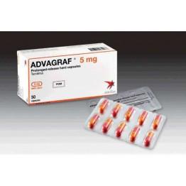 Адваграф 5 мг, 30 капсул