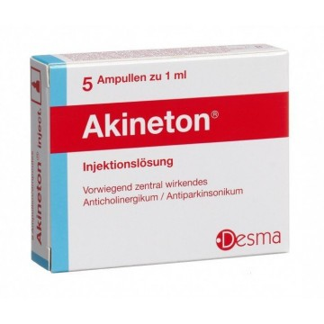 Акинетон раствор для инъекций 5мг/мл 1мл № 5