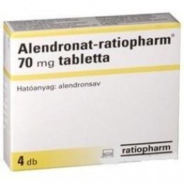 Алендронат (Ratiopharm) 70мг (4 шт)