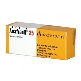 Анафранил 25 мг (30 шт)