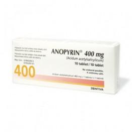Анопирин 400 мг (10 шт)
