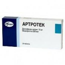 Артротек Форте 75мг + 200мг, 30 таблеток
