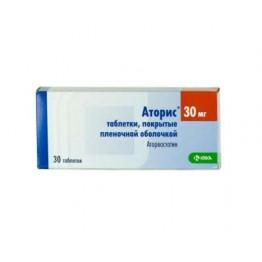 Аторис 30 мг (60 шт)