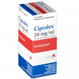 Ципралекс (Cipralex) 20 мг, 15 мл №1