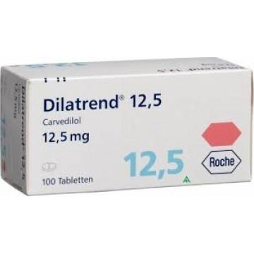 Дилатренд (карведилол) 12,5 мг (30 шт)