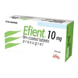 Эффиент (Efient) 10мг, 28 таблеток