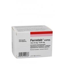 Ферретаб (Ferretab), 100 капсул