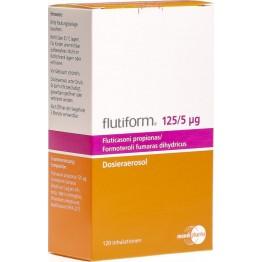 Флутиформ (Flutiform) 125 мкг/ 5 мкг, 120 доз