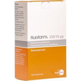 Флутиформ (Flutiform) 250 мкг/ 10 мкг, 120 доз