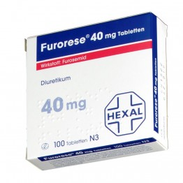 Фурорезе (Furorese) 40 мг, 100 таблеток