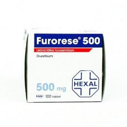 Фурорезе (Furorese) 500 мг, 100 таблеток