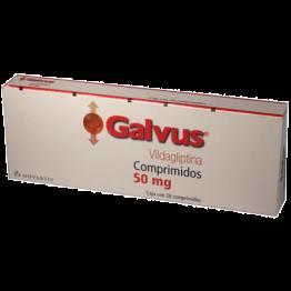 Галвус 50 мг, 28 таблеток