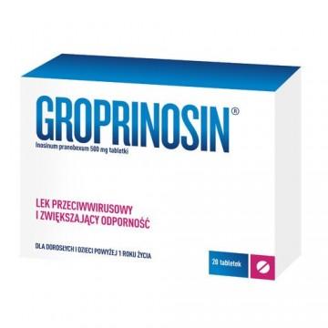 Гропринозин (Groprinosin) 500 мг, 20 шт
