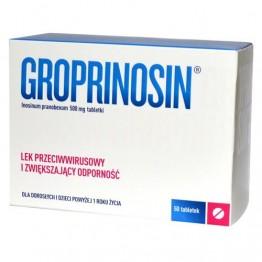 Гропринозин (Groprinosin) 500 мг, 50 шт